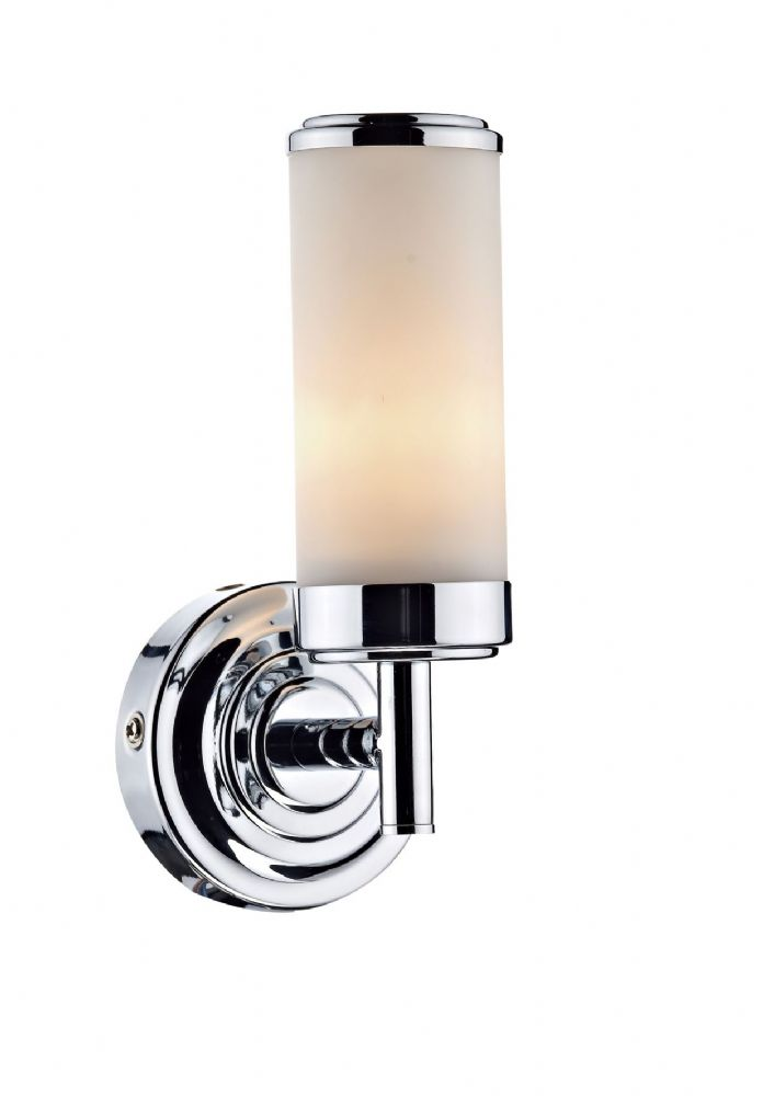 Century 1-light Polished Chrome IP44 Spotlight Wall Fitting (Class 2 Double Insulated) BXCEN0750-17